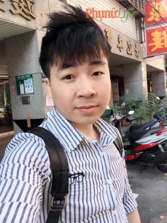 Anh Bùi Quang Sơn (27 tuổi, Cẩm Giàng, Hải Dương). Hiện đang sinh sống và làm việc ở Đài Loan khu vực Đài Bắc Taoyuan.