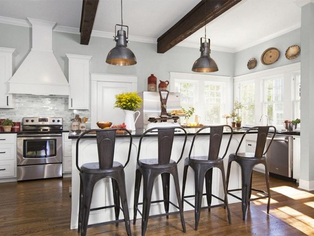 3. Đồ nội thất sử dụng bạn nên lựa chọn thật đơn giản, càng đơn giản càng tốt nhé.