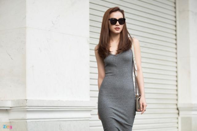 Nữ diễn viên không yêu nhanh, bỏ nhanh như trước sau nhiều vấp ngã. Ảnh: Nguyễn Thành.