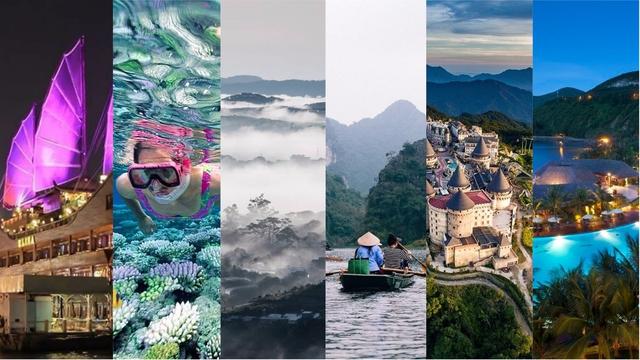 Tha hồ vi vu tại các tỉnh thành hot nhất Việt Nam! - Ảnh: sưu tầm