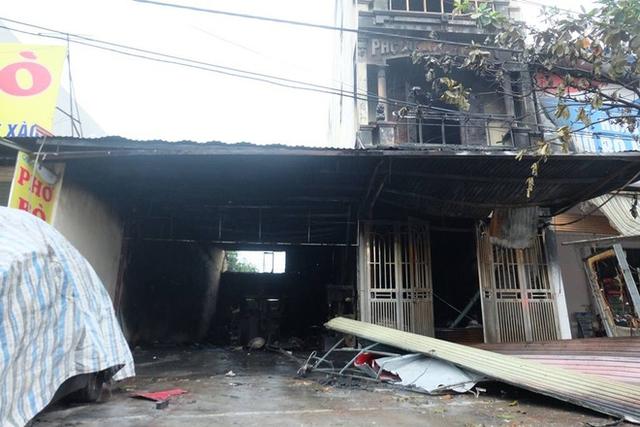 Căn nhà xảy ra vụ cháy.