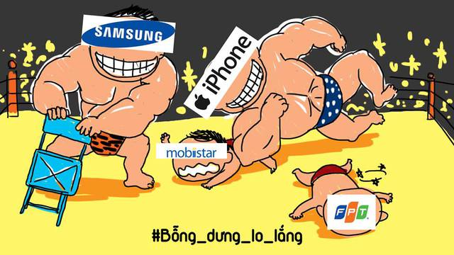 Thương hiệu điện thoại quốc dân mobiistar oằn mình chống đỡ iPhone của Apple và các ông lớn khác.