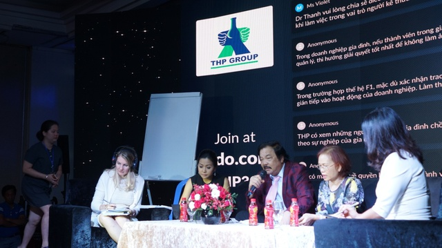 Theo ông Trần Quý Thanh, thừa kế doanh nghiệp không phải đặc lợi mà là một trọng trách