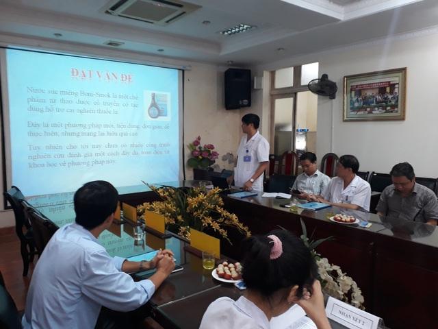 TS.BS Trần Thái Hà, thư kí đề tài báo cáo