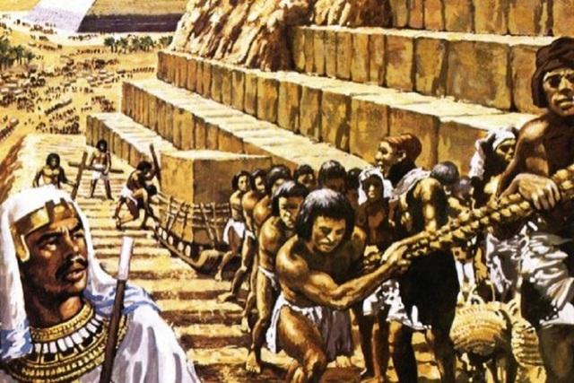 Người Do Thái không hề tồn tại vào khoảng thời gian các kim tự tháp được xây dựng.