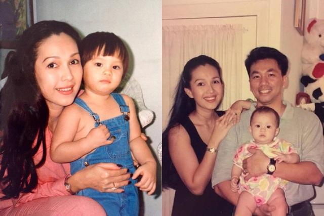 Hà Thùy My là kết tinh tình yêu của Diễm My và doanh nhân Hà Tôn Đức.