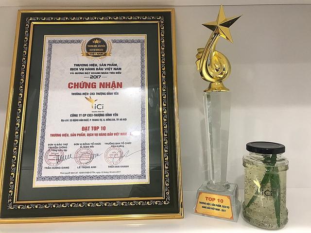 Giải thưởng đánh dấu bước ngoặc mới trong hành trình phát triển của CiCi - Thượng Đỉnh Yến.