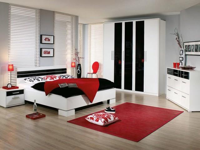 Một điều tối quan trọng khi sử dụng sắc đỏ trong nội thất đó chính là: không gian rộng.