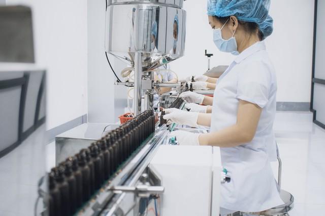Nhà máy Glamor đạt chuẩn trong việc sản xuất mỹ phẩm tự nhiên an toàn