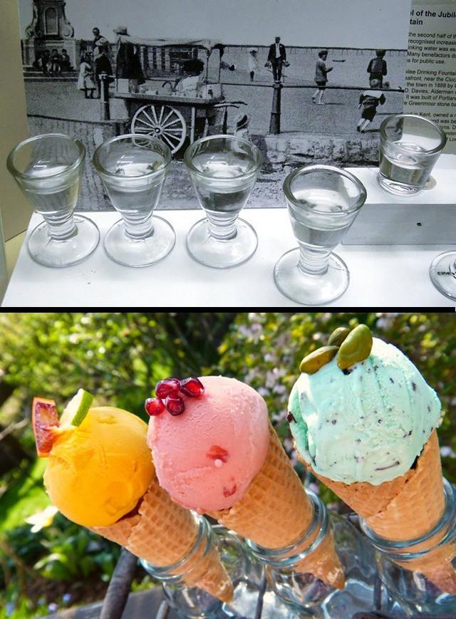 Ý tưởng đựng kem trong bánh quế được nhiều bác sĩ hưởng ứng bởi những chiếc ly nhỏ dùng chung kia một thời từng là nguyên nhân khiến lây lan bệnh lao.