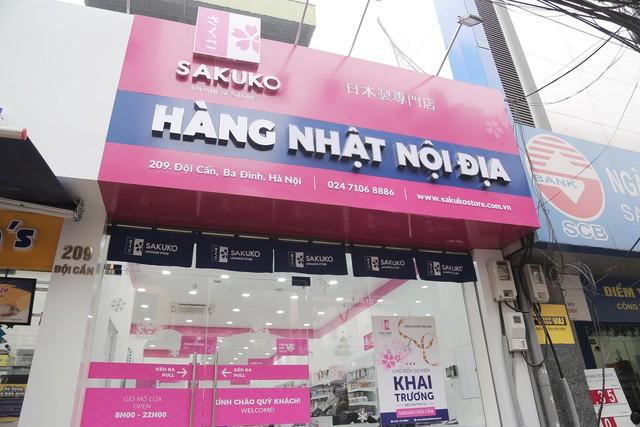 Siêu thị thứ 10 của Sakuko Japanese Store và tương lai Sakuko Việt Nam sẽ phủ rộng siêu thị ra khắp Hà Nội