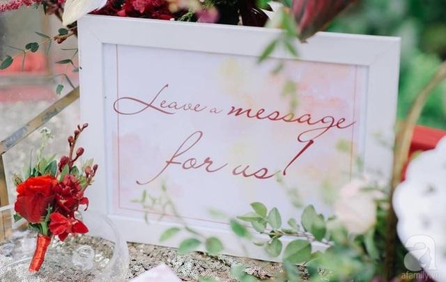 Tiệc cưới là sự hoàn hảo trong cách trang trí, trọn vẹn trong từng cảm xúc, ấn tượng trong từng góc nhìn mà cả cô dâu và chú rể đều dành cả tâm huyết cho bản tình ca hạnh phúc của chính mình.