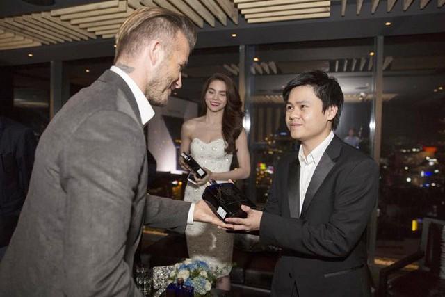 Anh chàng đã có cơ hội tiếp đón David Beckham trong lần cựu cầu thủ này sang thăm Việt Nam.
