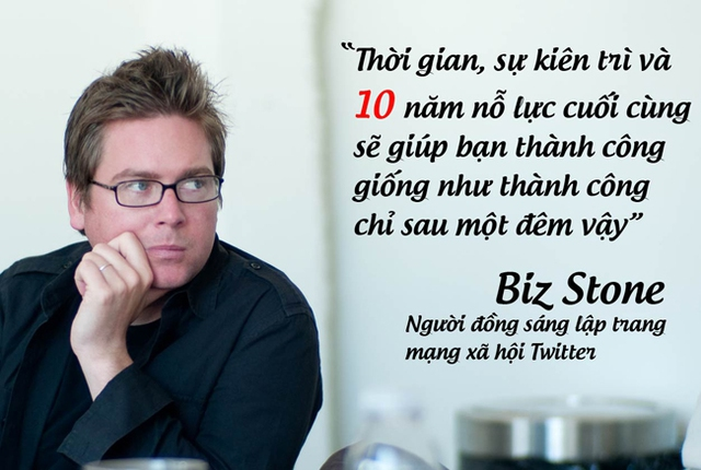 Biz Stone, người đồng sáng lập trang mạng xã hội Twitter.