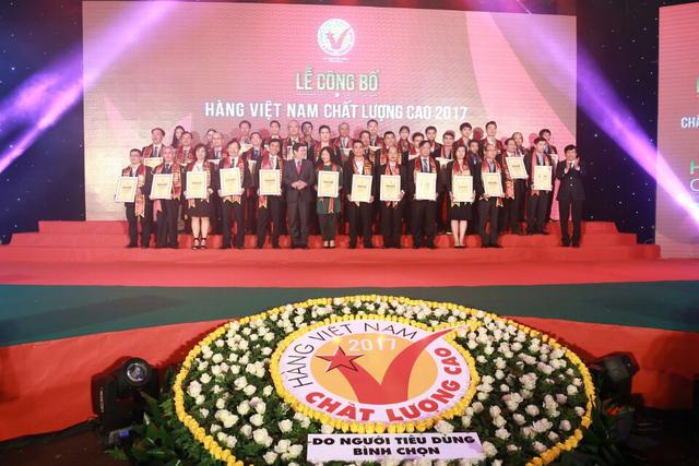 Lễ công bố HVNCLC năm 2017