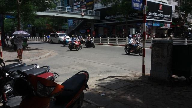 Trước đó đôi nam nữa đã có sự cãi nhau tại đầu ngõ 71 trên phố Thái Hà