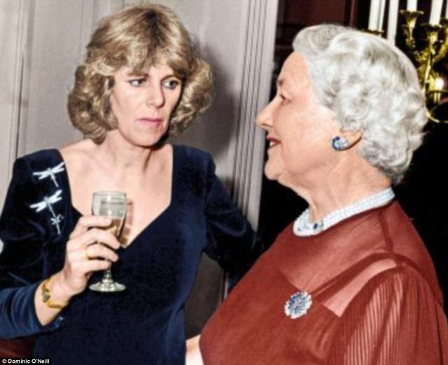 Camilla không hề vừa khi đáp trả Diana tại bữa tiệc sinh nhật chị gái.