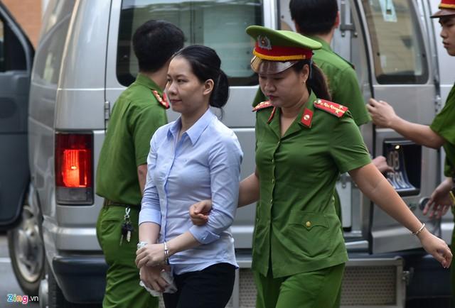 Nữ bị cáo Nguyễn Minh Thu (sinh năm 1973), cựu Chủ tịch HĐQT Oceanbank.