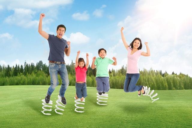 Năng lượng sữa với 4 dưỡng chất canxi, phốt pho, vitamin B2 và B12 là bí quyết dinh dưỡng cho các gia đình năng động