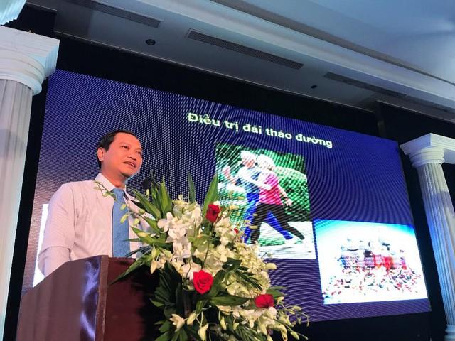 TS.BS Phan Hữu Hên chia sẻ cách thiết lập chế độ dinh dưỡng theo thể trạng của từng bệnh nhân, hỗ trợ kiểm soát đường huyết tốt nhất