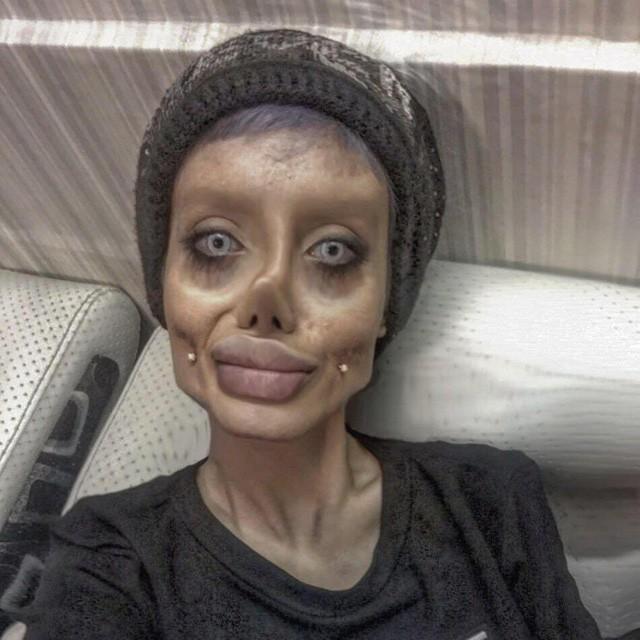 …nhưng mọi người vẫn thấy Sahar giống xác sống hơn