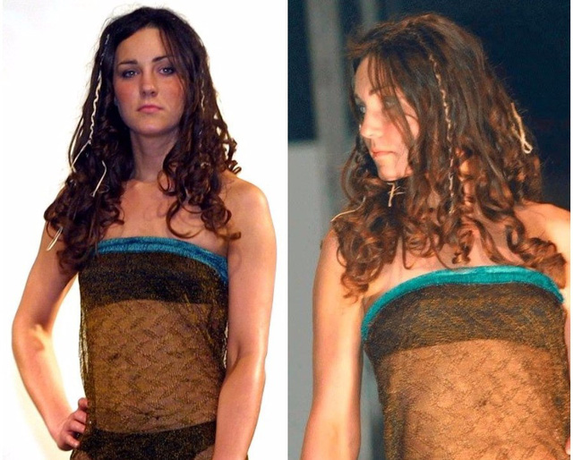 Công nương Kate Middleton từng bị bạn học tung ảnh diễn đồ lót thời đại học. Ảnh: Daily Mail.