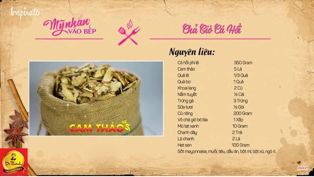 Thảo mộc Cam thảo sử dụng trong món chả giò đặc biệt cho ngày Tết này còn được mọi người biết đến là 1 trong 9 loại thảo mộc tự nhiên trong Trà Thanh nhiệt Dr Thanh.