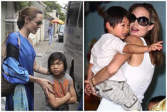 Cuộc sống của Pax Thiên bắt đầu thay đổi từ sau khi được Jolie nhận nuôi.