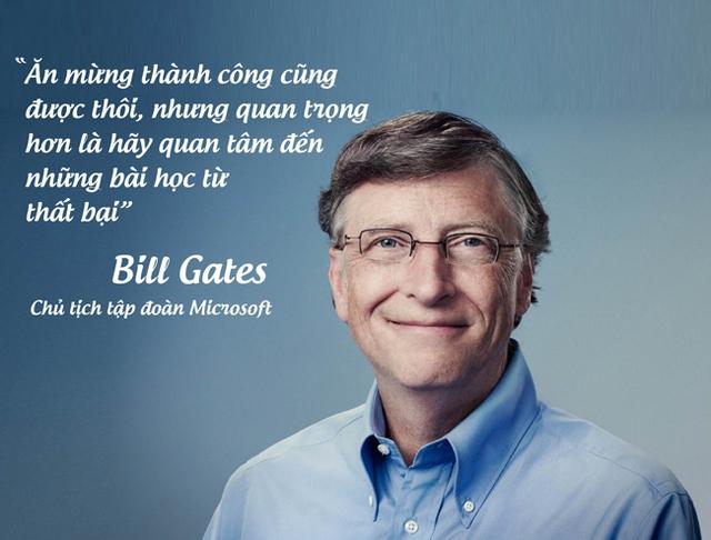 Tỷ phú Bill Gates, chủ tịch tập đoàn Microsoft.