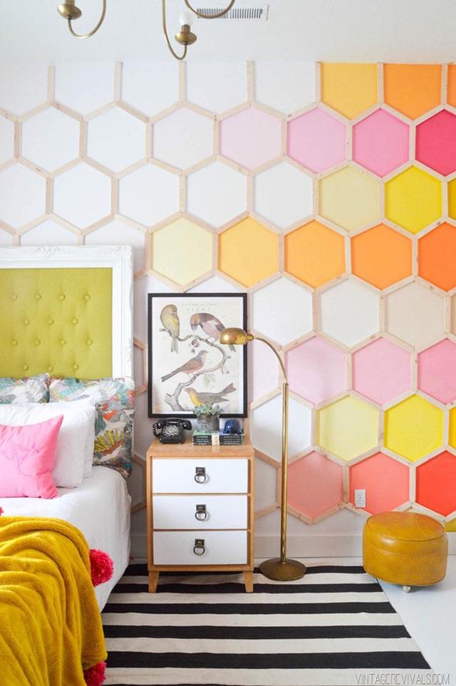 4. Một mẫu gợi ý quá đỗi tuyệt vời để bạn có thể sở hữu một căn phòng ngủ đầy cá tính của riêng mình.