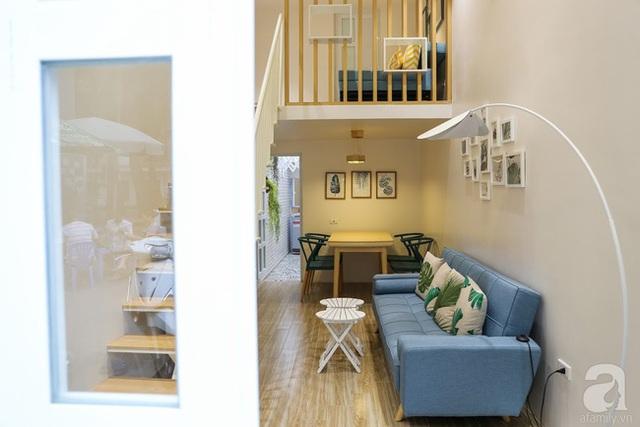 Căn nhà nhỏ xinh, hiện đại và ấm cúng.