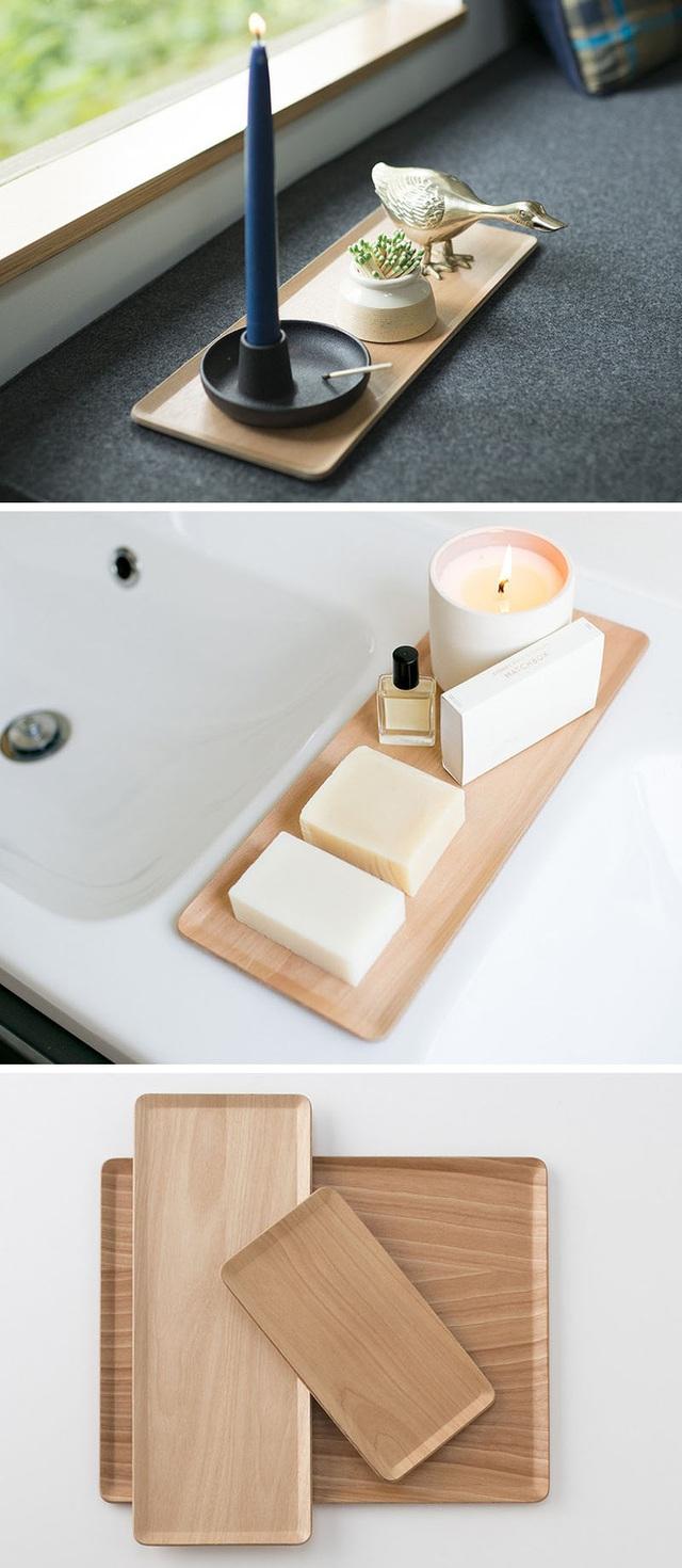 5. Mẫu đĩa gỗ với thiết kế đơn giản nhưng lại có tính ứng dụng cao phù hợp với nhiều môi trường sử dụng khác nhau.