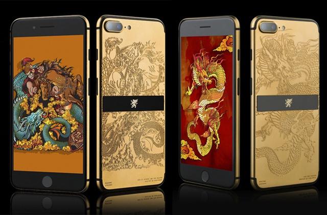 Ngoài mạ vàng 24K, sản phẩm của Mobiado đặc biệt hơn khi được chạm khắc công phu các họa tiết độc đáo theo nhiều chủ đề khác nhau. Grand 7 cũng là dòng sản phẩm đặc biệt của Mobiado được chế tác từ các máy iPhone 7 và iPhone 7 Plus gốc. Grand 7 (làm từ iPhone 7) có giá từ 72 đến 82 triệu đồng còn Grand 7+ (làm từ iPhone 7 Plus) có giá từ 89 đến 99 triệu đồng.