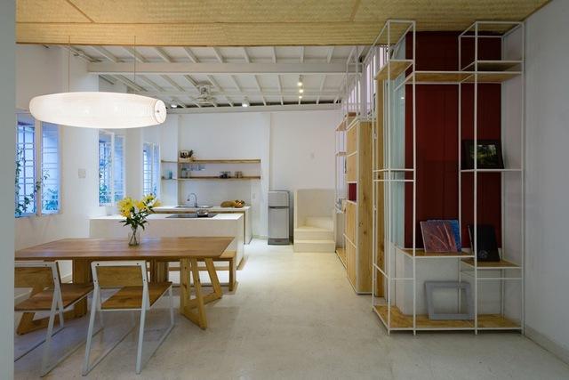 Phòng ăn đơn giản nhưng vô cùng cá tính và đẹp mắt.