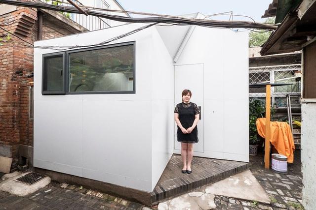 Ngôi nhà được hoàn thành sau 24 giờ thi công.