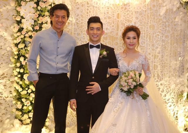 Diễn viên Hiếu Nguyễn cũng có mối quan hệ thân thiết với chồng cũ của Phi Thanh Vân.