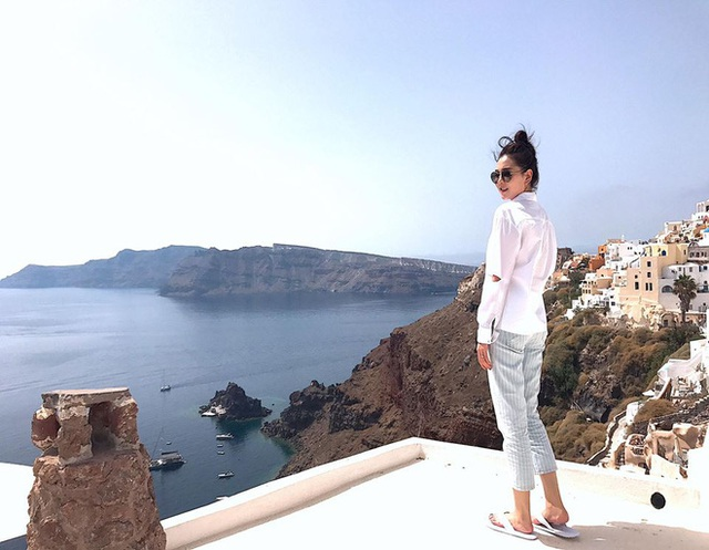 Mặc đồ giản dị nhưng trông Mai Ngọc vẫn sang chảnh như người mẫu.