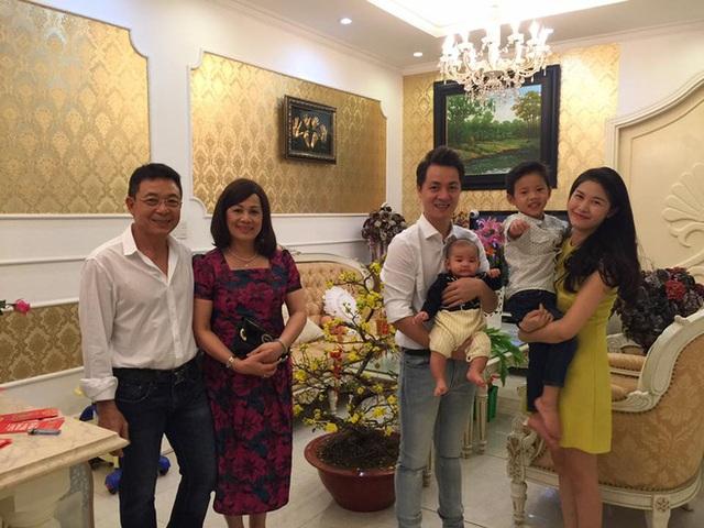 Bà xã Đăng Khôi được lòng nhà chồng từ khi 2 người mới yêu nhau.