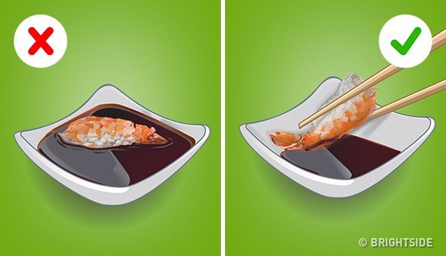 Chấm sushi