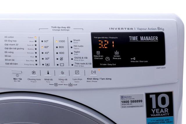 Các dòng máy giặt sử dụng công nghệ Inverter của Electrolux đang được bán rất chạy tại Điện máy Xanh