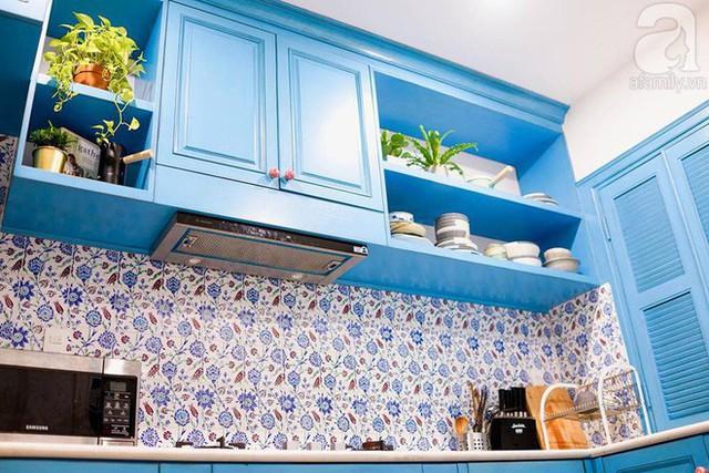 Bếp tuy nhỏ nhưng đầy đủ tiện nghi.