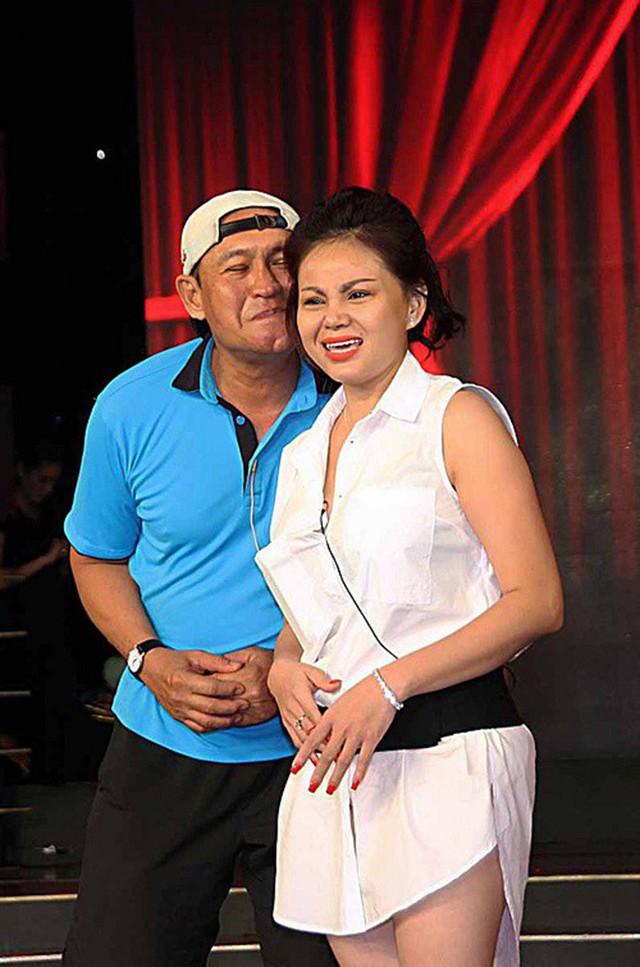 Lê Giang và chồng cũ Duy Phương. Hải Lý cho biết, chị và Lê Giang từng xảy ra xô xát tại nhà riêng.