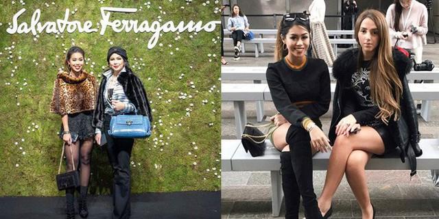 Cô nàng và mẹ thường xuyên là khách mời trong các sự kiện thời trang lớn.