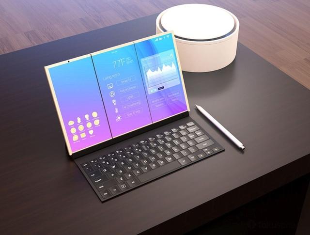Ý tưởng này tương tự với tin đồn về điện thoại gập của Samsung. Báo Bloomberg cho biết Samsung sẽ công bố hai smartphone sử dụng màn hình OLED uốn cong tại triển lãm MWC ở Tây Ban Nha vào tháng 2/2017. Một phiên bản có thể gập đôi, trong khi bản còn lại được trang bị màn hình 5 inch có thể mở rộng ra thành một máy tính bảng cỡ 8 inch.