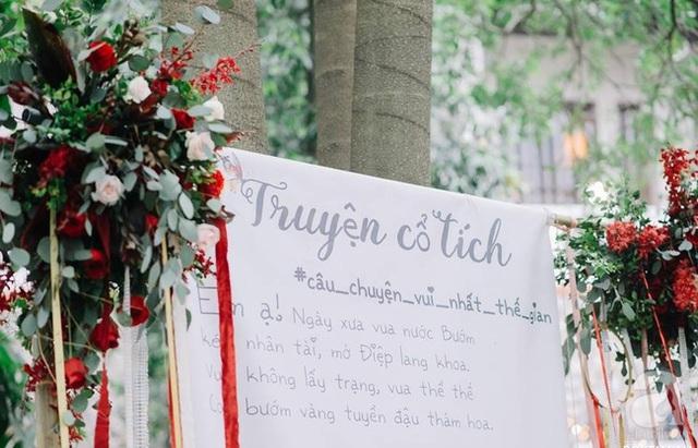 """Photobooth chụp hình là bài thơ """"Truyện cổ tích"""" của nhà thơ Nguyễn Bính."""