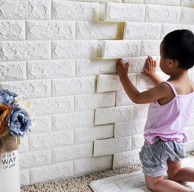 Dễ dàng dán lên tường trong thời gian nhanh nhất.