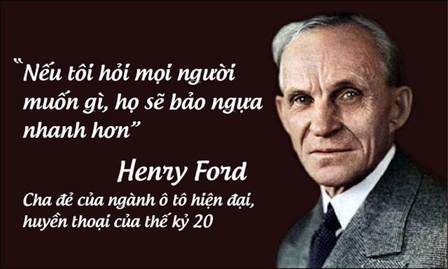 Henry Ford, cha đẻ của ngành ô tô hiện đại, huyền thoại của thế kỷ 20.
