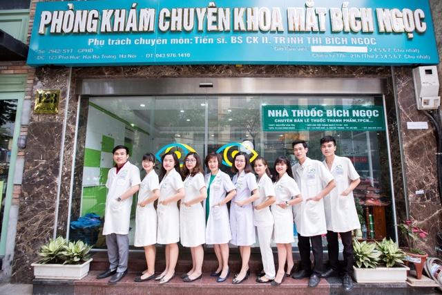 Phòng Khám Mắt Bích Ngọc tự hào có đội ngũ y bác sỹ giỏi chuyên môn và giàu kinh nghiệm khám điều trị thực tế