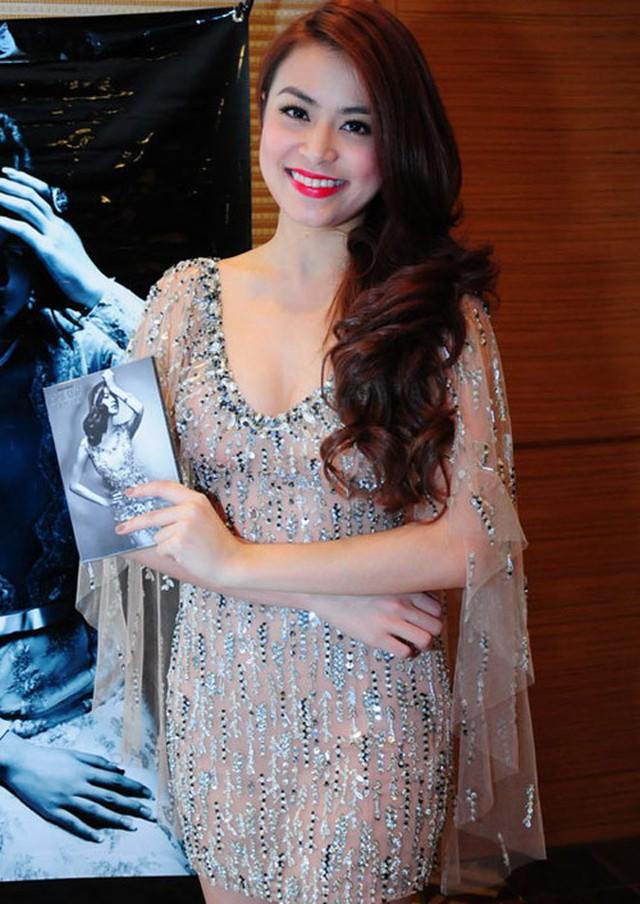Năm 2012, nhan sắc Hoàng Thùy Linh khác biệt hơn xưa. Hot girl với làn da rám nắng đã lột xác trở thành cô gái da trắng, dáng đẹp