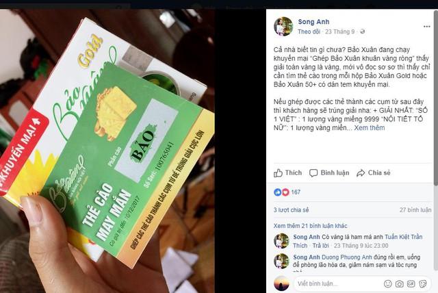 Rất nhiều chị em phụ nữ lên tiếng kêu gọi mọi người tham gia ghép thẻ, rinh quà khủng từ Bảo Xuân